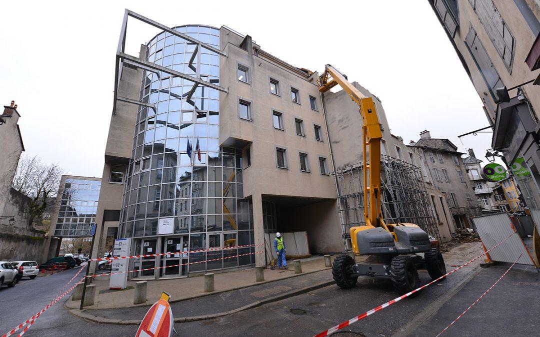 Îlot des frères Charmes : les travaux de déconstruction se poursuivent