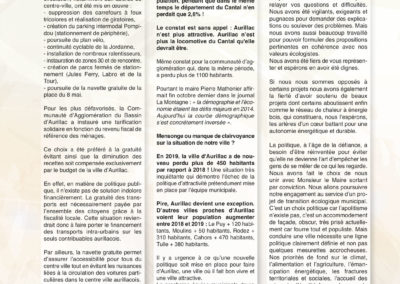 Tribunes Libres 168