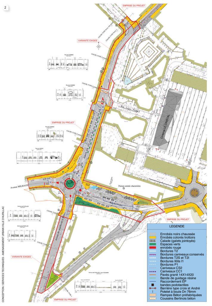 Au-delà de la création du giratoire Carmes/Milhaud/Pupilles/Viaduc, c'est un quartier entier qui sera remodelé.