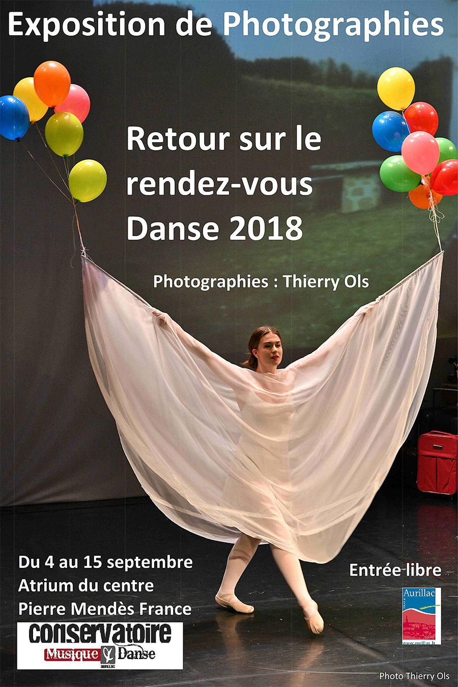 Exposition de Photos - retour sur le rdv danse 2018