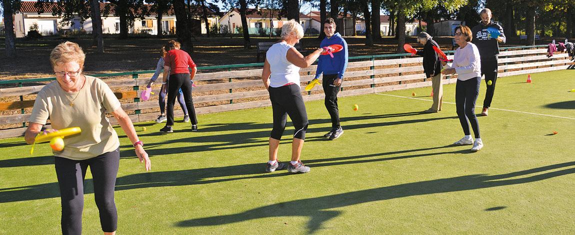 Le sport santé s'adresse autant aux enfants qu'aux seniors.