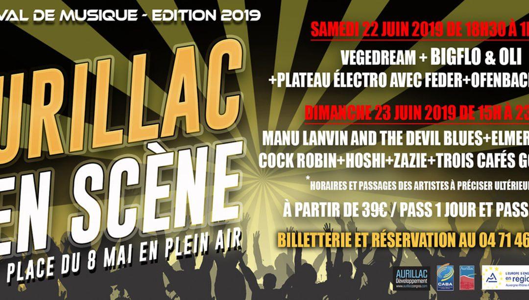 1er Festival Aurillac en Scène