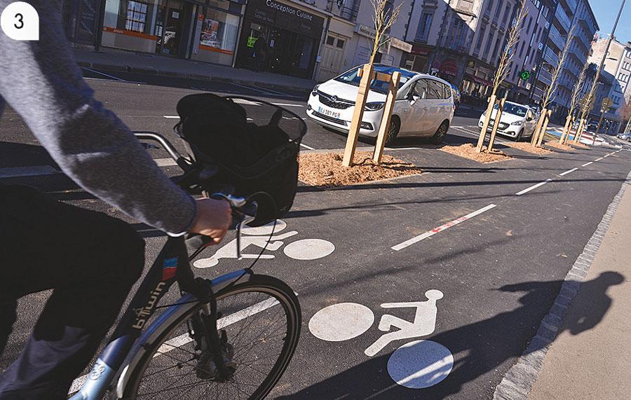 3 / Une ville adaptée à tous les modes de déplacements.
