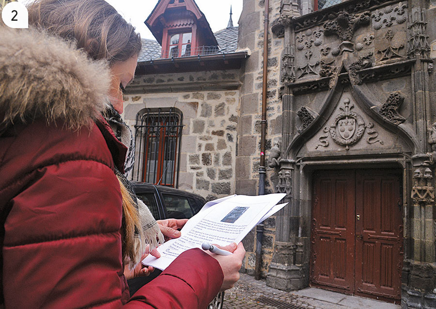 2 / Un centre ville doté d'un patrimoine historique et architectural riche.