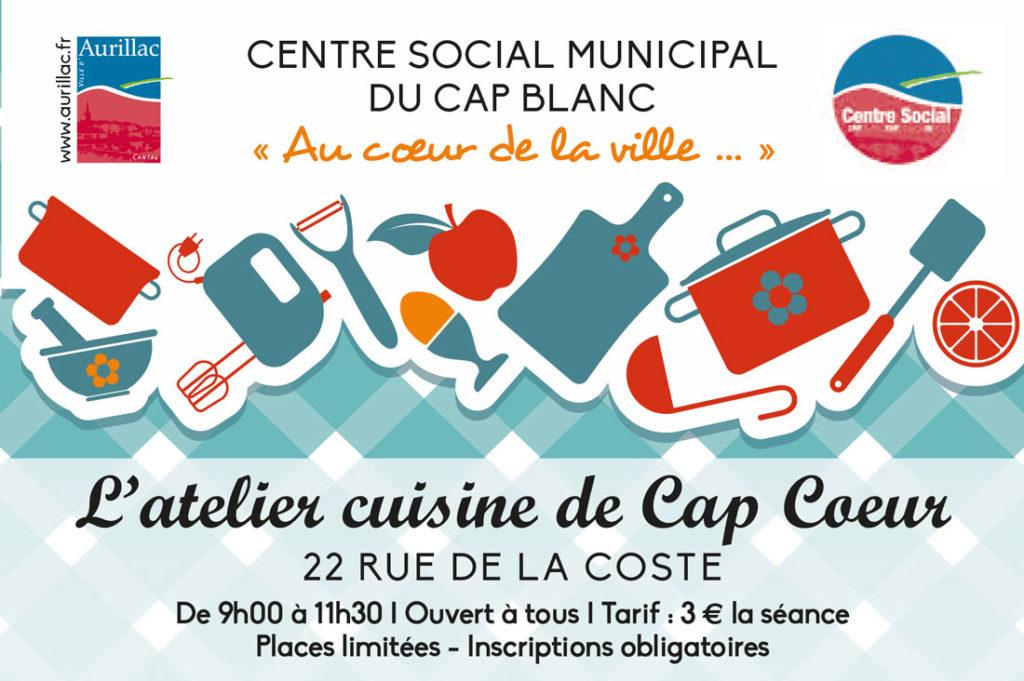 Atelier cuisine de Cap Coeur / Tartes normandes salées-sucrées