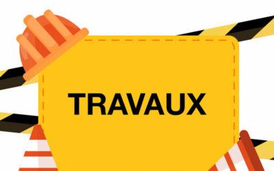 Travaux d'assainissement côte et impasse de Reyne (Aurillac)