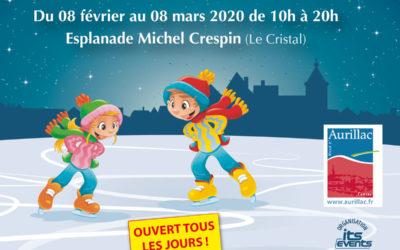 Une patinoire du 8 février au 8 mars