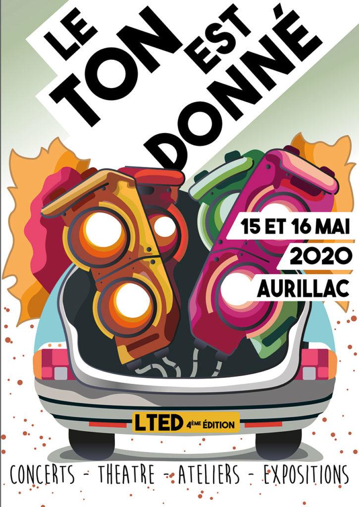 Aurillac : festival «Le Ton Est Donné»