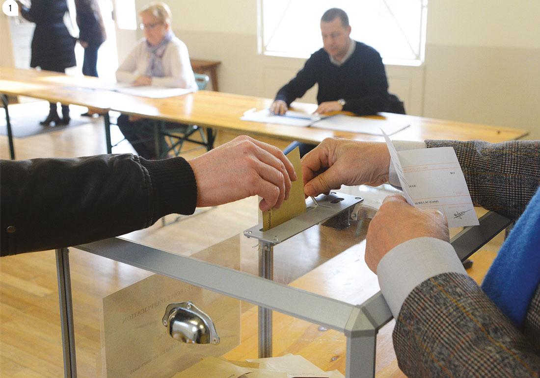 1 / Les élections municipales se dérouleront les 15 et 22 mars.
