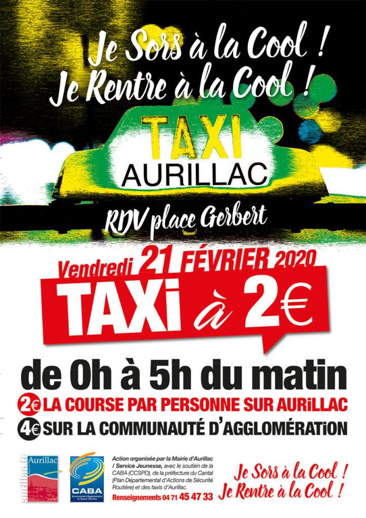 Opération Taxi à 2€