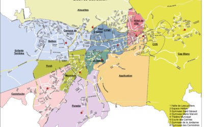Distribution des masques offerts aux Aurillacois par le Conseil départemental du Cantal et la Région