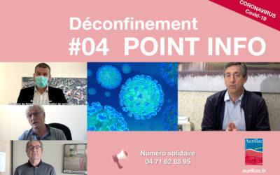 #04 Point d'information Déconfinement Pierre Mathonier maire d'Aurillac / mercredi 27 mai / COVID-19