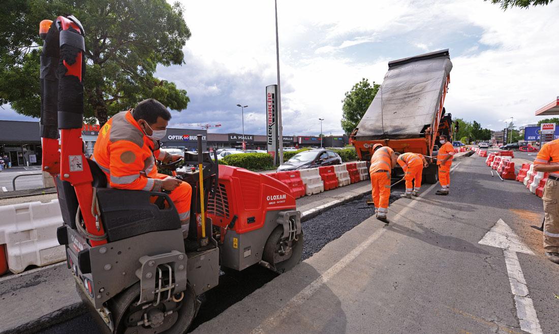 * Le réseau aura une extension de 6km dans les secteurs du boulevard du Pont Rouge et du Vialenc