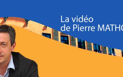 Point d'information vidéo de Pierre Mathonier du vendredi 18 septembre