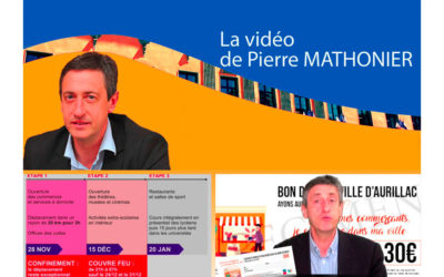 Point d'information – Covid 19 de Pierre Mathonier du vendredi 27 novembre