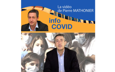 Point d'information – Covid 19 de Pierre Mathonier du mercredi 25 novembre