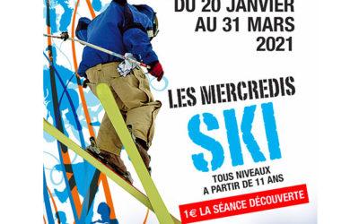 Les Mercredis SKI à partir de 11 ans !