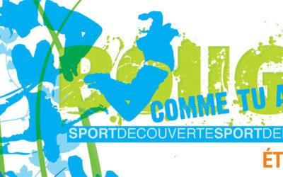 Programme de l'été Sport Découverte