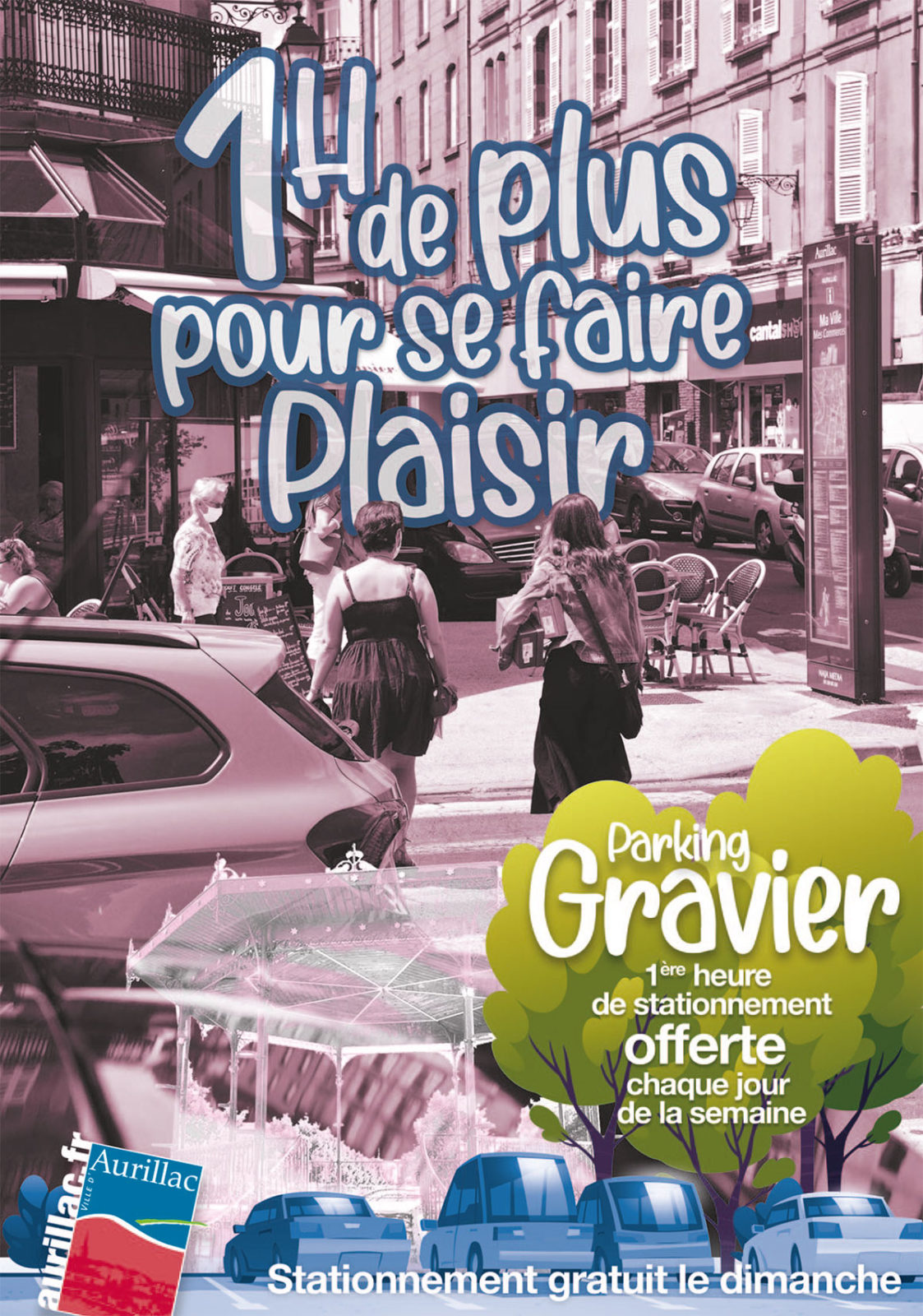 La première heure est désormais gratuite sur le parking du Gravier.