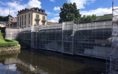 Réfection du pont Bourbon