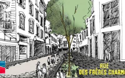 Réfection des rues piétonnes